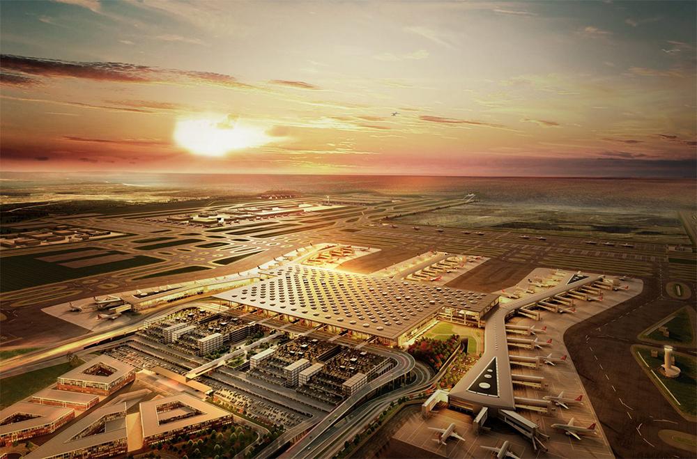 فرودگاه چورلو استانبول (فرودگاه جدید)