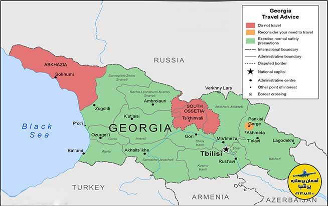 تاریخ کوتاهی از کشور گرجستان