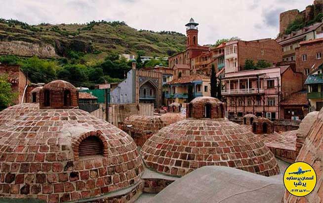 حمام 1500 ساله تفلیس