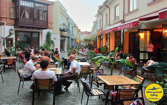 غذاها و رستوران های متسختا گرجستان