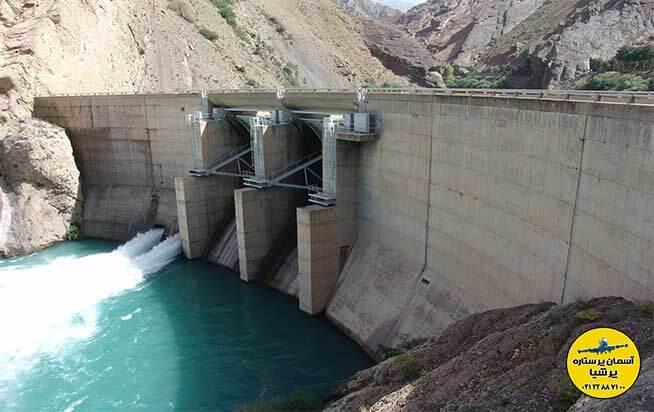 دریاچه سد امیرکبیر استان البرز
