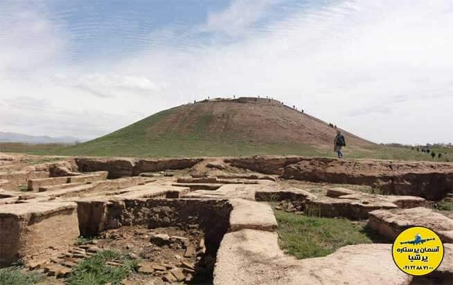 محوطه باستانی آق تپه استان البرز