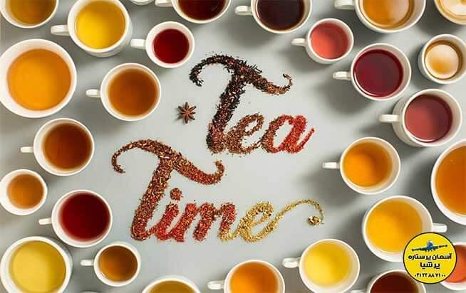مناطق اصلی برداشت چای در آسیا