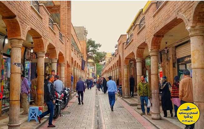 بخش های قدیم بازار تهران