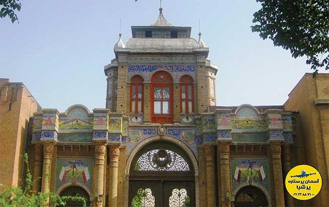 معماری باغ ملی