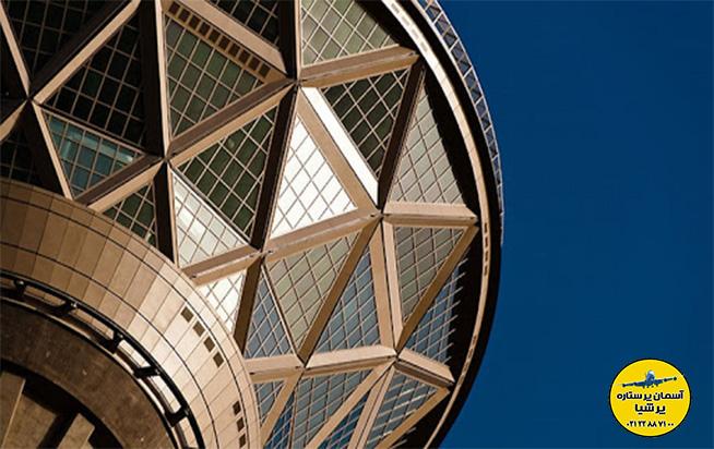 معماری برج میلاد