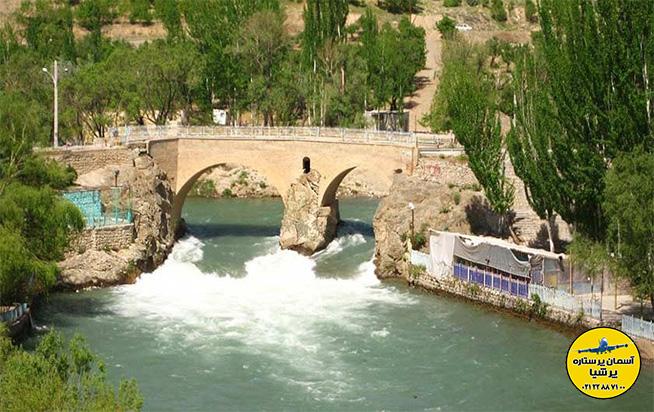 پل زمانخان شهرستان سامان نگین