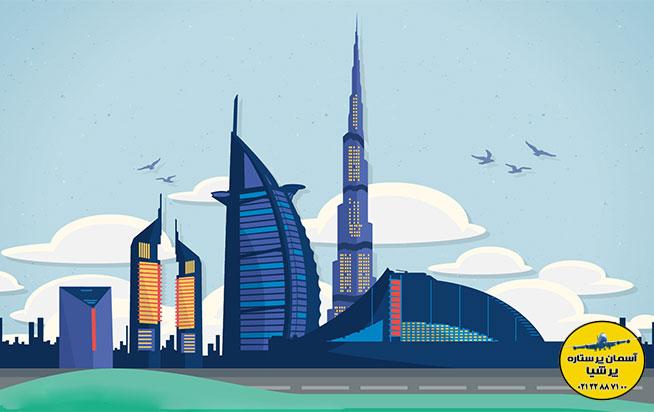 بخشنامه پذیرش مسافر دبی