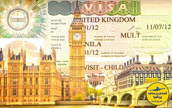 ویزای توریستی انگلیس