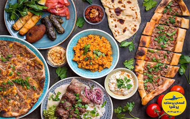 تاریخچه طبخ غذا در ترکیه