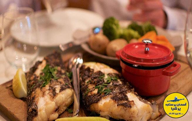 غذاهای دریایی ترکیه