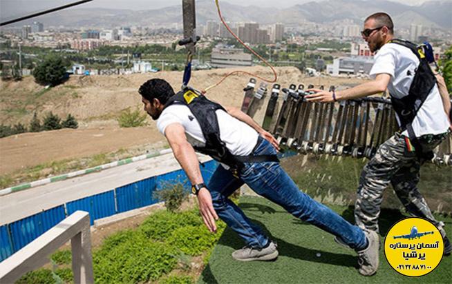 پرهیجان ترین حالت استفاده از زیپ لاین در تهران