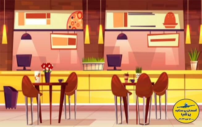 رستورانهای تور کیش و تفریحات کیش